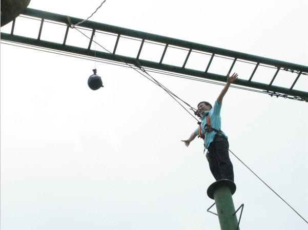团结拼搏,突破极限——记科腾无锡农博园拓展训练